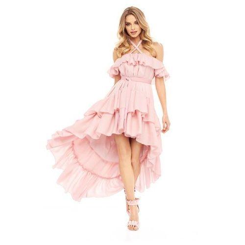 Sukienka Passiflora w kolorze różowym