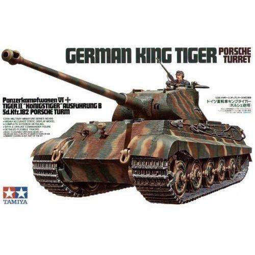 Tamiya king tiger porsche turret - darmowa dostawa od 250 zł!!
