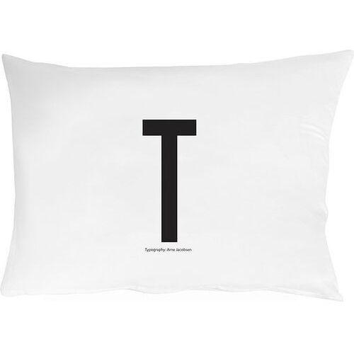 Design letters Poszewka na poduszkę arne jacobsens vintage abc litera t