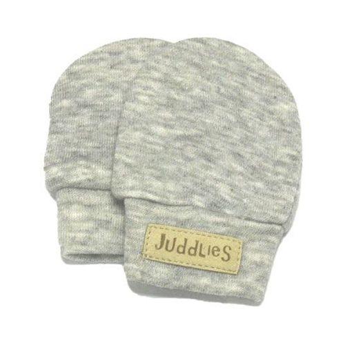 rękawiczki niedrapki light grey marki Juddlies