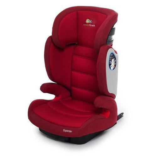 Kinderkraft Fotelik samochodowy expander z systemem isofix czerwony + darmowy transport!