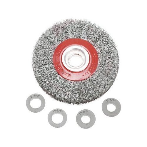Verto Szczotka druciana 62h211 tarczowa 150 x 32 mm (5902062070982)