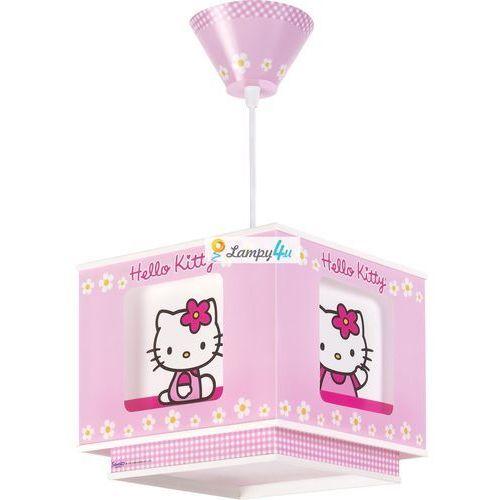 Lampa wisząca dziecięca HELLO KITTY 1xE27/60W - produkt z kategorii- Oświetlenie dla dzieci