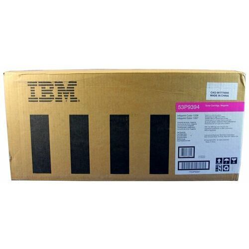 Wyprzedaż oryginał toner 53p9394 do ibm infoprint c1228 c1357 c1567 | 14 000 str. | magenta, opakowanie zastępcze marki Ibm