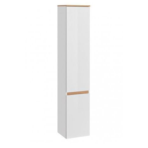 COMAD szafka wysoka Platinum riviera/white (słupek) PLATINUM800, kolor biały