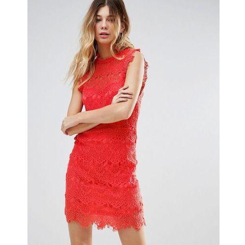 Free People Daydream Lace Bodycon Dress - Pink, w 2 rozmiarach