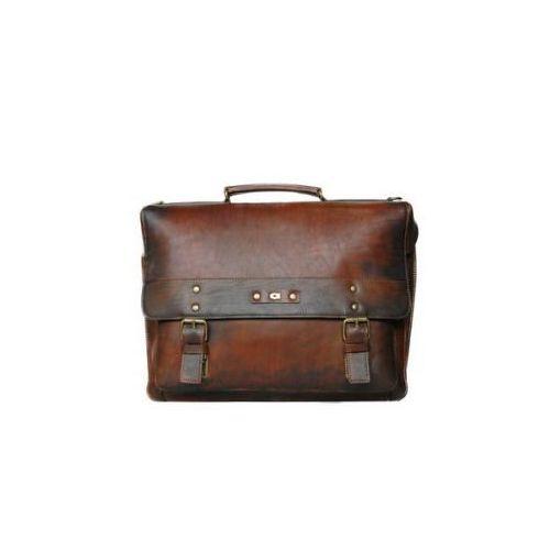 Daag Alive 9 torba skóra naturalna firmy na ramię z miejscem na notebook unisex