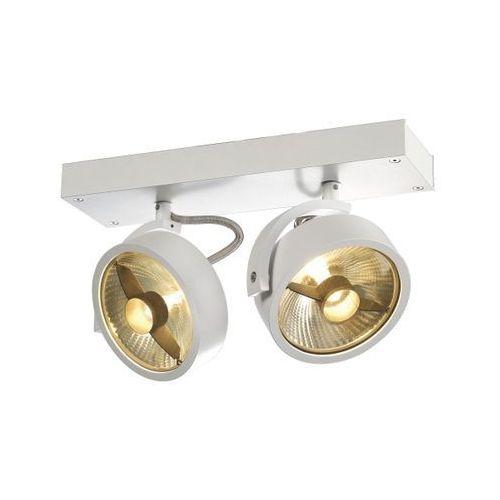 Reflektorek podwójny kalu 2 qpar biały promocja wwos, 147311 marki Spotline