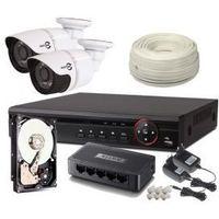 Zestaw monitoringu 2 kamery 720P