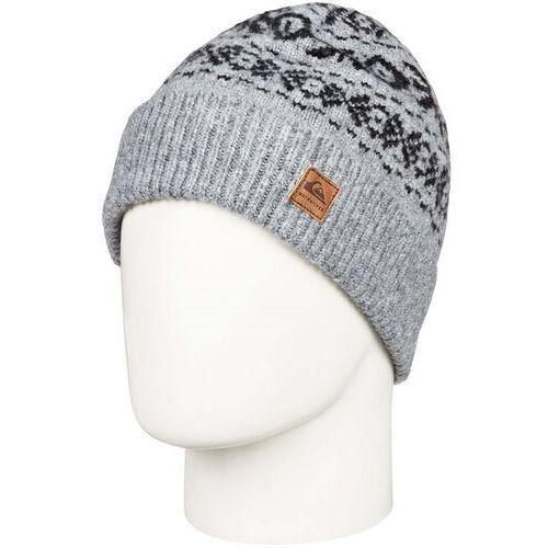 czapka zimowa QUIKSILVER - Barrow Beanie Light Grey Heather (SGRH) rozmiar: OS, kolor szary