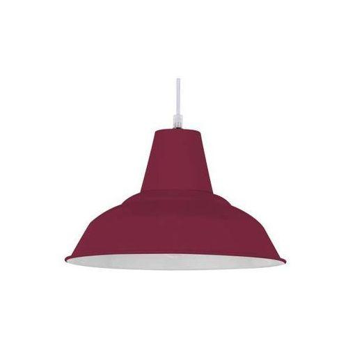 LAMPA wisząca MEG 1107106 Spotlight metalowa OPRAWA industrialna ZWIS czerwony