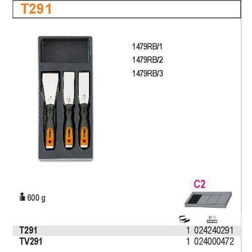 Beta Wkład profilowany twardy z zestawem skrobaków 1479rb, rb1-rb2-rb3, 3 sztuki, model 2424/t291, kategoria: pozostałe narzędzia