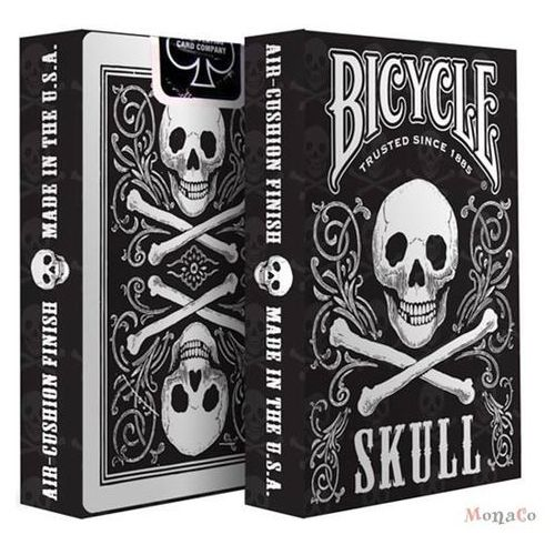 Karty Bicycle SKULL - USPC Karty Bicycle SKULL - USPC