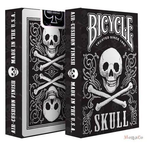Uspcc - u.s. playing card compa Karty bicycle skull - uspc karty bicycle skull - uspc