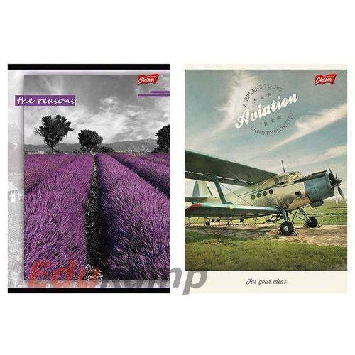 MAJEWSKI Brulion w półtwardej oprawie, format A4, 96 kartek, kratka, UNIPAP Darmowy odbiór w 19 miastach!, 5904149012007
