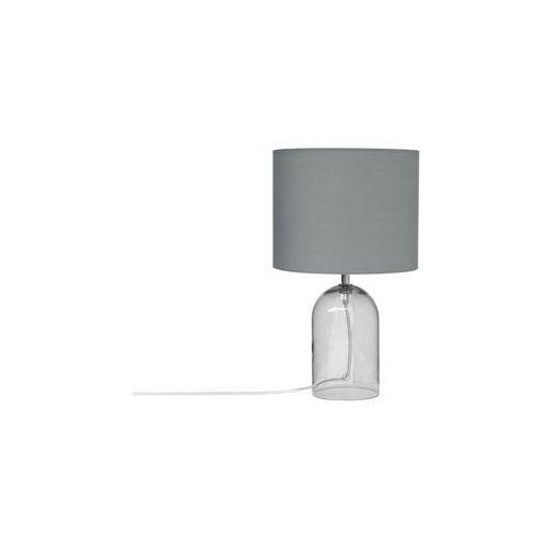Beliani Lampa stołowa szkło przezroczyste/szara 44 cm devoll (4260624117447)