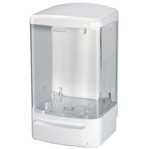 Bisk Dozownik do mydła w płynie 1 litr plastik przezroczysty (5901487078023)