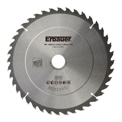 Erbauer Tarcza do drewna 250 x 30/25/20/16 mm 40t (3663602813125)
