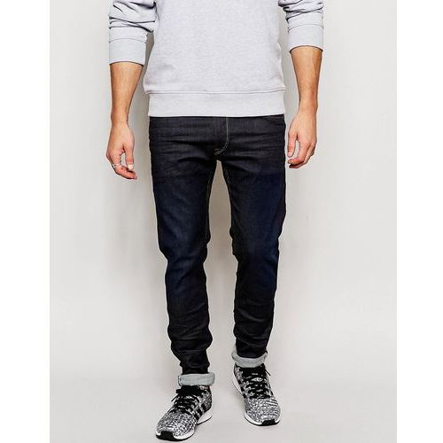 jeans hyperflex jondrill skinny comfort ultra stretch rinse wash - blue marki Replay