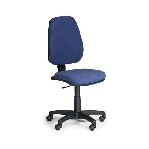 Euroseat Krzesło biurowe comfort pk, bez podłokietników - niebieske