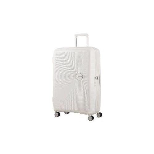SOUNDBOX walizka duża renomowanej marki AMERICAN TOURISTER 4 koła zamek szyfrowy TSA materiał 100% polipropylen możliwość poszerzenia, 88474
