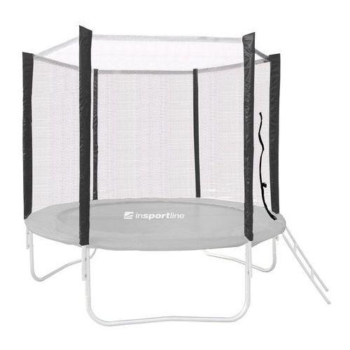 Insportline Ochronna siatka do trampoliny 183 cm na 6 tyczek, czarny