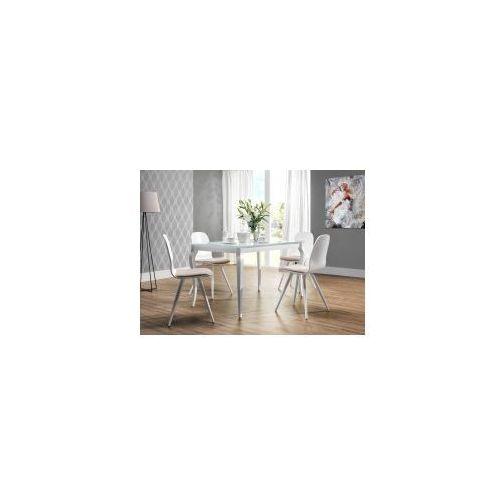 Stół nierozkładany BRESSO WHITE/BLACK 80x140