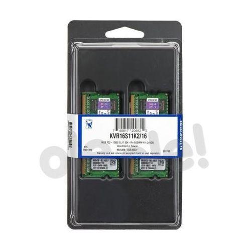 Kingston DDR3 2x8GB 1600MHz KVR16S11K2/16 SODIMM, KVR16S11K2/16