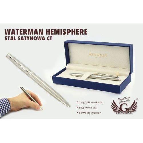 Długopis WATERMAN HEMISPHERE - stal satynowa CT