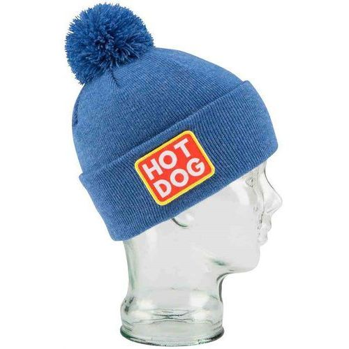 Czapka zimowa - the vice heather royal blue (hot dog) (06) rozmiar: os marki Coal