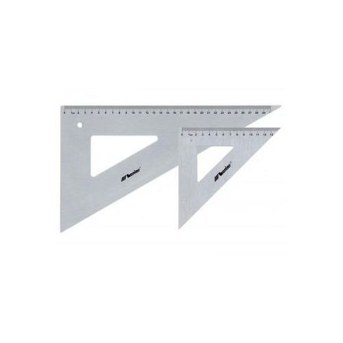 Ekierka profesjonalna metalowa 45/50cm x1 marki Przybory kreślarskie