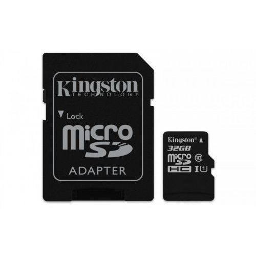 Kingston microSD 32GB Canvas Select 80/10MB/s adapter, 1_625058