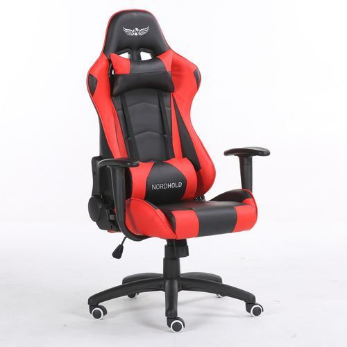 Fotel gamingowy - ymir - czerwony marki Nordhold