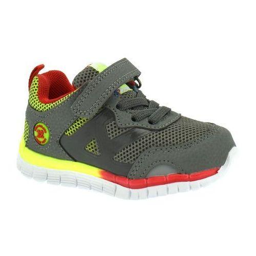 Buty sportowe dla dzieci American Club ES35/19 - Kolorowy ||Grafitowy, kolor wielokolorowy
