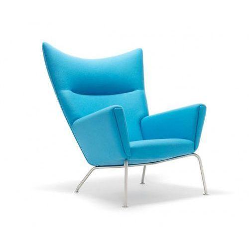 Fotel Snug z podnóżkiem inspirowany Womb chair - szary (5902385714631)