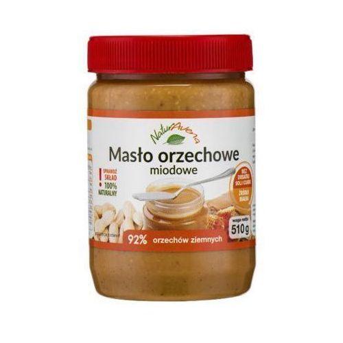 510g naturalne masło orzechowe miodowe marki Naturavena