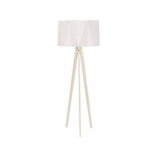 Tklighting Lampa oprawa podłogowa stojąca tk lighting piano natur 1x60w e27 biała 688