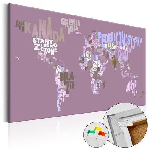 Obraz na korku - bajkowy świat (pl) [mapa korkowa] marki Artgeist