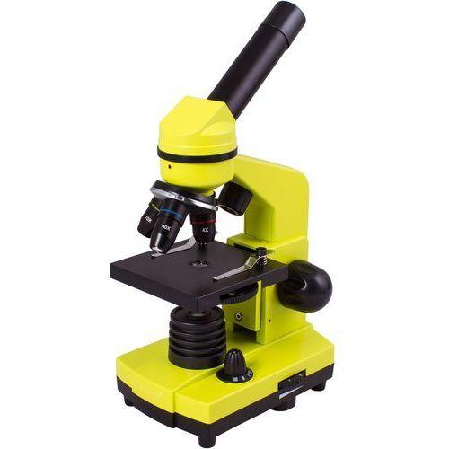 Mikroskop LEVENHUK Rainbow 2L Żółty + DARMOWY TRANSPORT! (0611901506494)