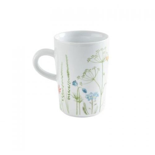 Kahla five senses wildblume mg filiżanka do caffè latte, 0,35 l, niebieska