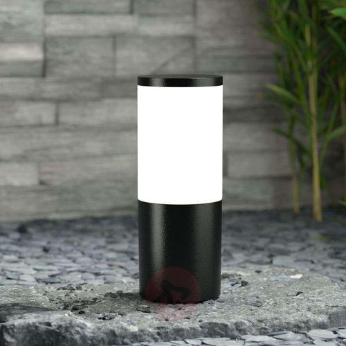 Amelia – lampa cokołowa, czarna, wysokość 25 cm marki Fumagalli