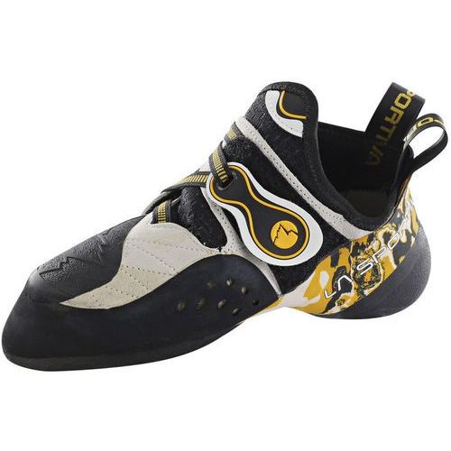 La sportiva solution but wspinaczkowy beżowy/czarny buty wspinaczkowe sznurowane