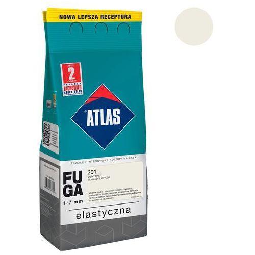 Atlas Fuga cementowa 201 ciepły biały 2 kg (5905400273533)