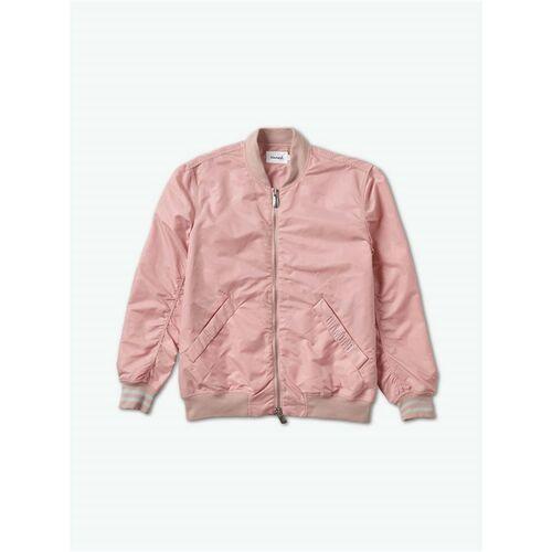 kurtka DIAMOND - Panelled Bomber Jacket Pink (PNK), kolor różowy