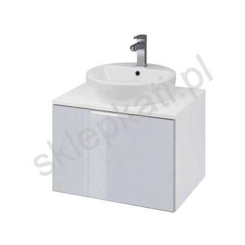 Cersanit szafka stillo 60 biała/szara pod umywalkę nablatową s575-007