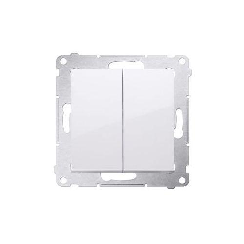 Kontakt-simon Kontakt simon 54 premium łącznik świecznikowy (moduł) 10ax 250v, szybkozłącza, biały dw5.01/11 (5902787822200)
