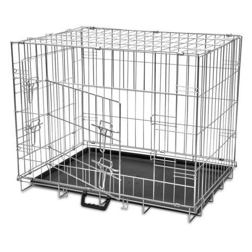 vidaXL Klatka dla psa metalowa składana L, kup u jednego z partnerów