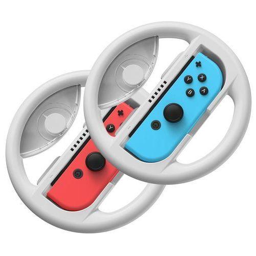 Baseus zestaw 2x kierownica do nintendo switch nakładka na joy-con joystick pad szary (gmswb-0g) - szary (6953156216709)