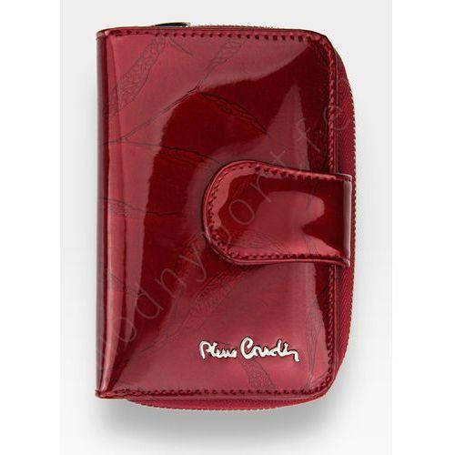 4979f97add2b0 Portfel damski skórzany czerwony w liście 115 marki Pierre cardin
