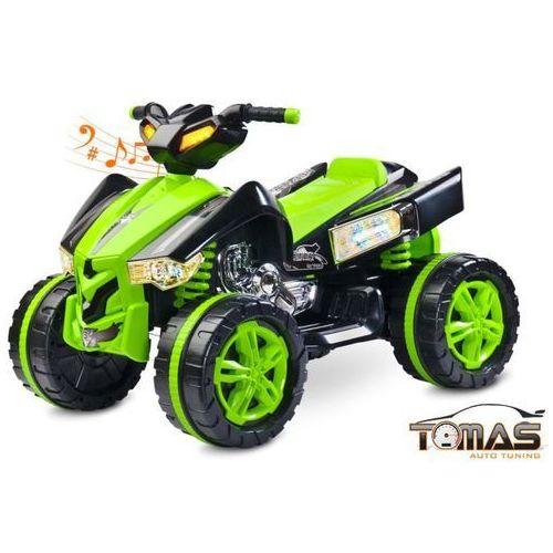 Toyz Quad raptor pojazd na akumulator zielony